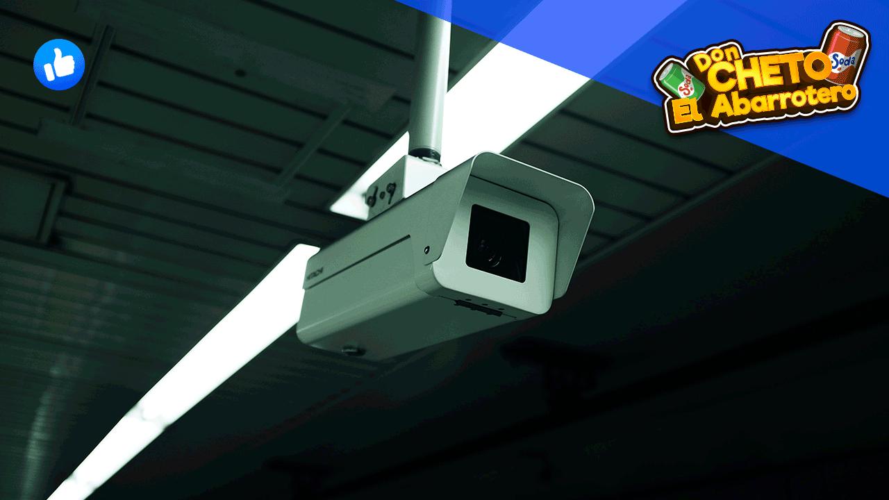 Razones para poner cámaras de seguridad en tu tienda de abarrotes