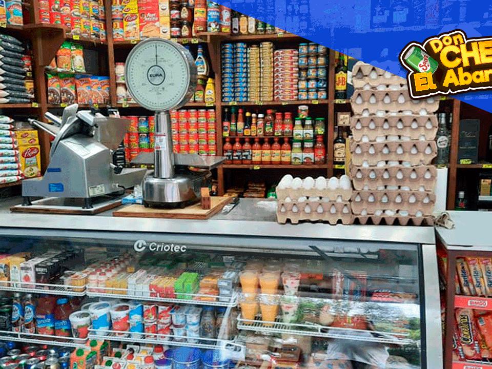don cheto el abarrotero productos para vender en la tienda de abarrotes en fiestas patrias México